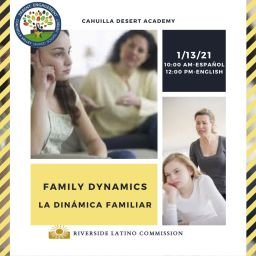 Family Dynamics/Dinámica Familiar 1/13/21
